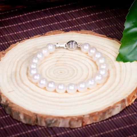 Vòng Tay Hoàng Liên An Pearl  (Ngọc Trai)